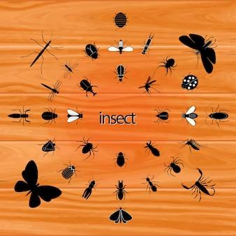 Moda na przedmioty serangga
