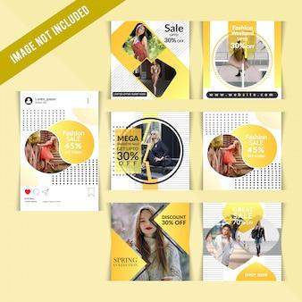 Moda social media post dla marketingu cyfrowego