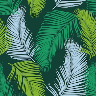 Moda tropikalny wzór.