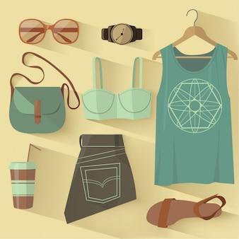 Moda zestaw