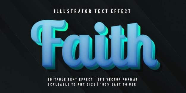 Modern vibrant neon text effect