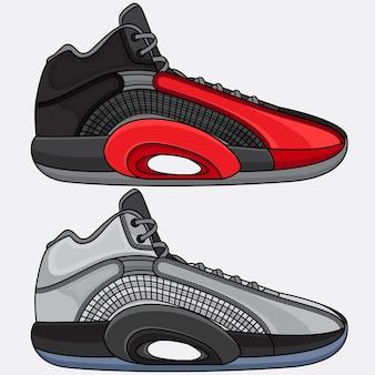Modne sportowe buty do koszykówki