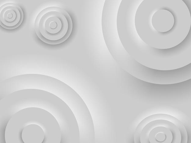 Modne tło interfejsu w stylu neumorfizmu
