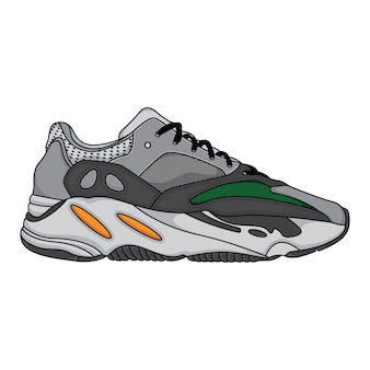 Modne trampki buty sportowe