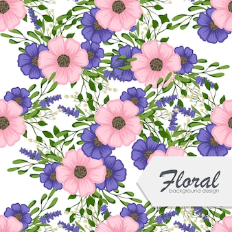 Modny kwiatowy wzór
