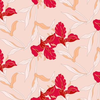 Modny wzór kwiatowy