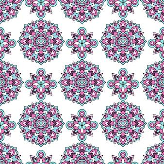 Modny wzór plemienny, styl konturu
