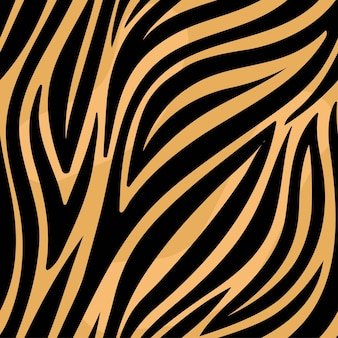 Modny wzór tygrysa