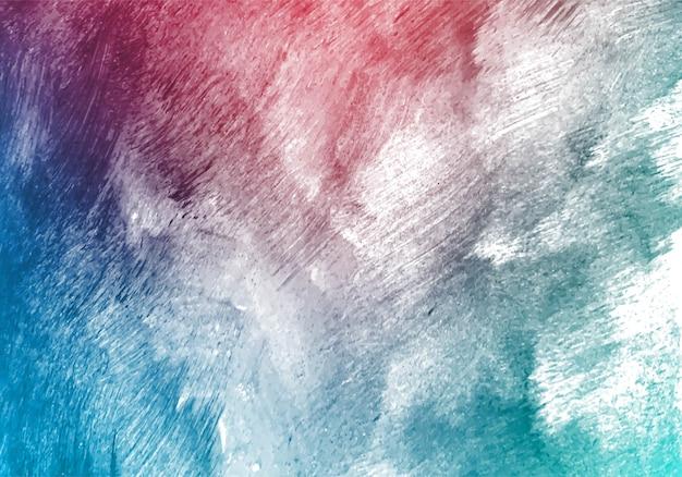Modren kolorowy pędzel akwarela tekstury