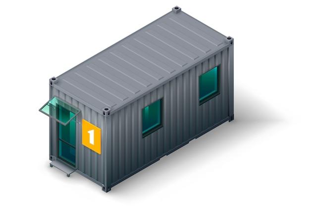 Modułowy budynek kontenerowy