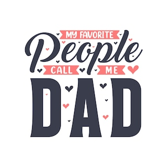 Moi ulubieni ludzie nazywają mnie tata