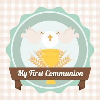 Moja pierwsza komunia