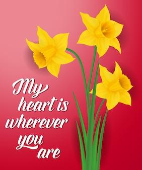 Moje serce jest wszędzie, gdzie piszesz