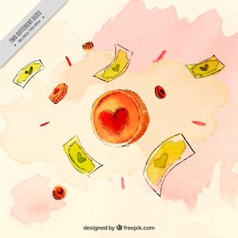 Moneta z serca, miłości