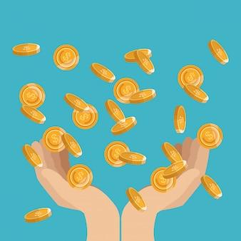 Monety biznesowe i finansowe