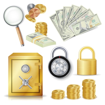 Money secure concept
