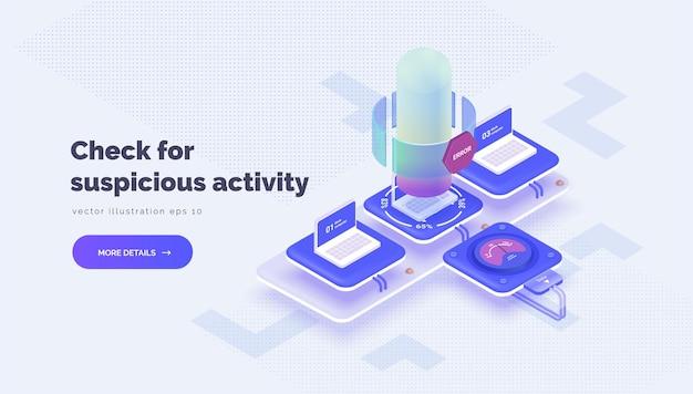 Monitorowanie aktywności użytkowników system do sprawdzania i analizowania danych firmowych