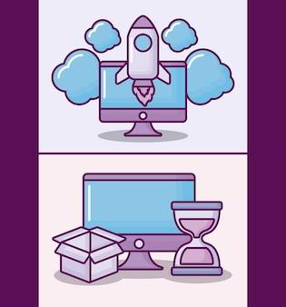 Monitoruj komputer za pomocą elektronicznego biznesu
