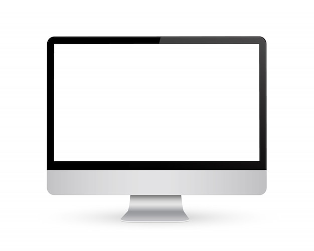 Monitoruj z pustym ekranem.