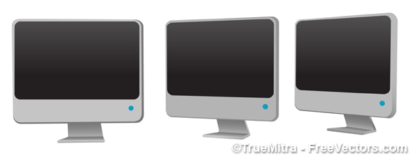 Monitory lcd 3d