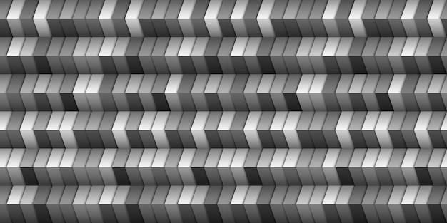 Monochromatyczne geometryczne tło w stylu 3d, złudzenie klatki schodowej. szablon projektu graficznego. ilustracja wektorowa