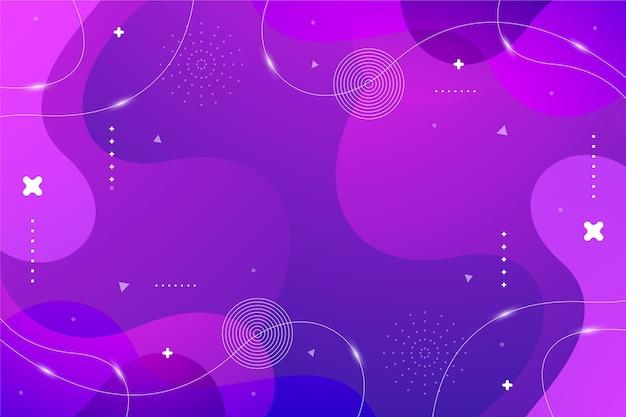 Monochromatyczne tło z falistymi abstrakcyjnymi kształtami