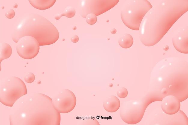 Monochromatyczny realistyczny płynny efekt tła
