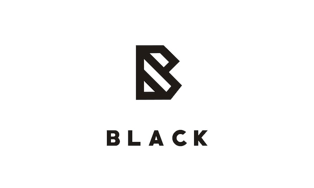 Monogram b / initial b dla logo