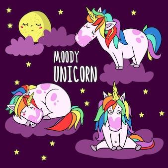 Moody unicorn