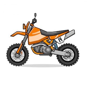 Motocross rower