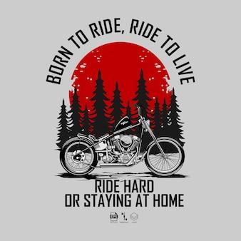 Motocykl choopera