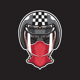 Motocyklista cyborga