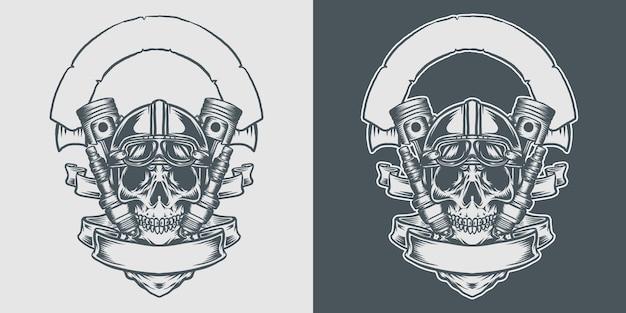 Motoryzacyjna czaszka