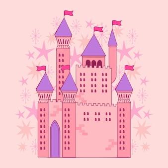Motyw bajkowego zamku