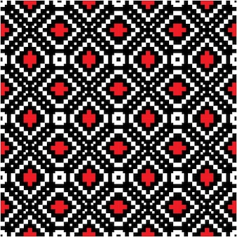 Motyw batikowy wzór tła w stylu mozaiki
