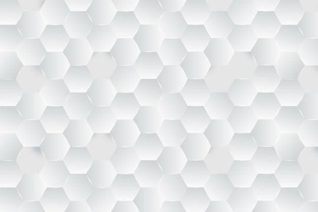 Motyw białej tapety w stylu papieru 3d