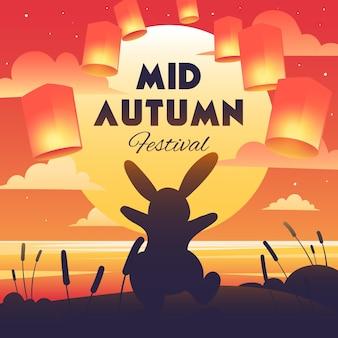 Motyw festiwalu w połowie jesieni