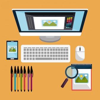 Motyw graficzny i zawód