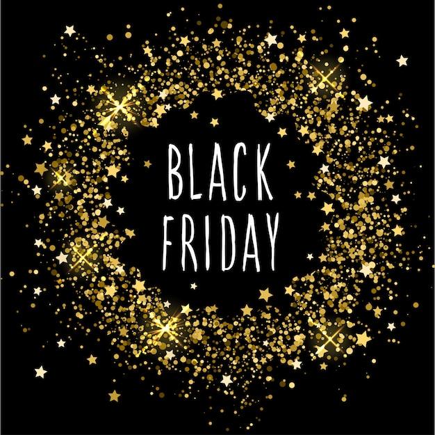 Motyw imprezy w czarny piątek. streszczenie czarny piątek reklama w sklepie projektowym