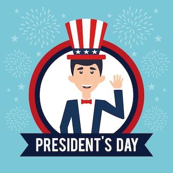 Motyw imprezy z okazji płaskiego projektu prezydentów