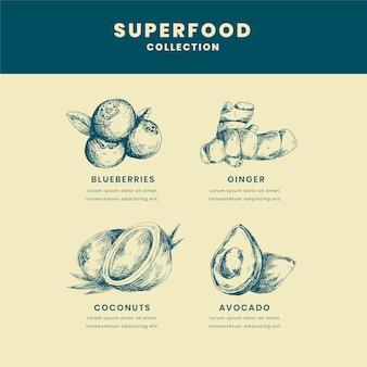 Motyw kolekcji superfood
