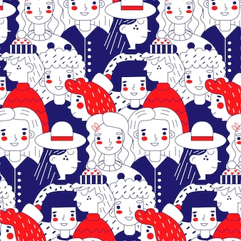 Motyw kolekcji wzór dzień kobiet