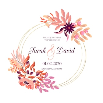 Motyw kwiatowy wesele