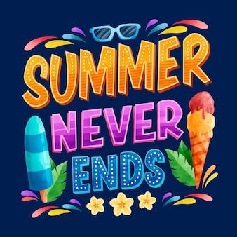 Motyw letnich liter