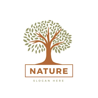 Motyw logo drzewa życia