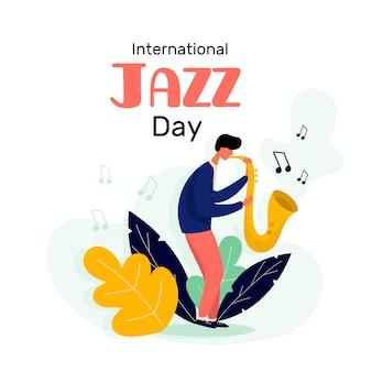 Motyw międzynarodowego dnia jazzowego