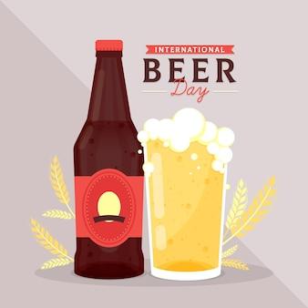 Motyw międzynarodowego dnia piwa