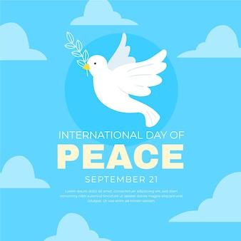 Motyw międzynarodowego dnia pokoju