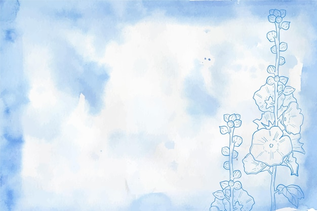 Motyw pastelowej tapety w proszku