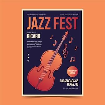 Motyw plakatu festiwalu muzycznego